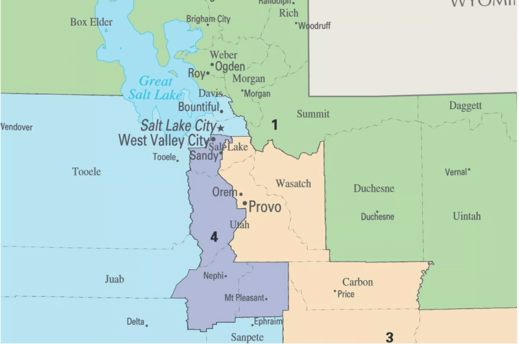 The perfect cure for pandemic boredom: Drawing Utah's congressional districts